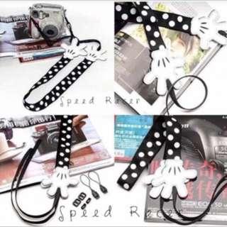 Mickey camera strap