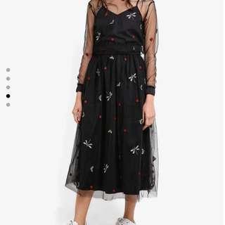 Embroidery tutu skirt