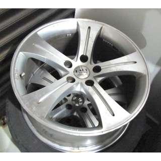 "18"" inch Sport Rim, 5 x 114.3pcd Racing Hart AMG (Non Ori) - 4pcs Full Set"