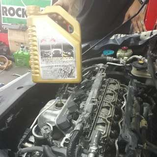 PLATINUM OIL SYNTHETIC GOLD 10W40 - ENGINE OIL