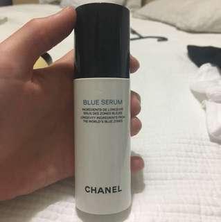 Chanel blue serum used twice