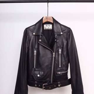 Acne studio 真皮外套!leather jacket