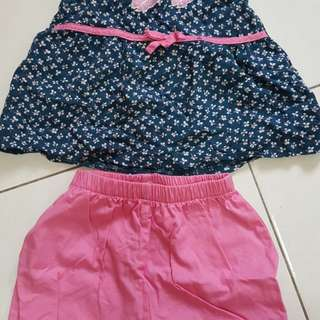 Skirts pink/red