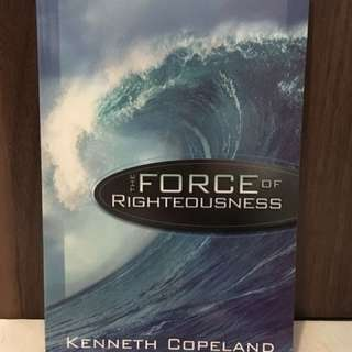 Charity Sale! The Force of Righteousness by Kenneth Copeland