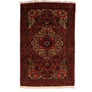 SAMEYEH LOT NO : 0004 BAKHTIARY FROM CENTRAL PERSIA SIZE : 222 x 143