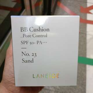 BN Laneige BB Cushion Pore Control SPF 50+ Sand