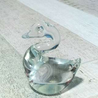 Swan Crystal Paper Weight