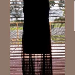 Kookai black evening dress
