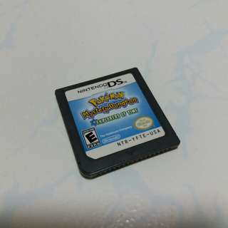 Pokémon mystery dungeon explorers of time