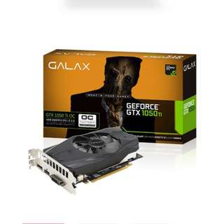 Galax GTX1050Ti OC version