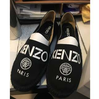 全新Brand NEW KENZO logo black flat