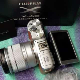 Fujifilm xa2 brown plus Lensa
