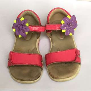 Stride Rite Girl Floral Sandals