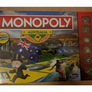 Brand New Monopoly Australian Special Edition