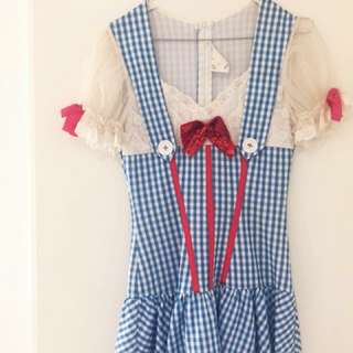 Dorothy Costume including red petticoat!
