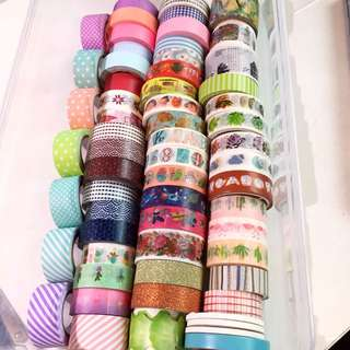 washi tape swatches!!
