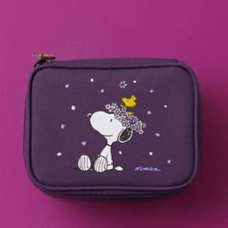 Innisfree x Snoopy Cosmetic Bag