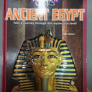Ancient Egypt pop-up book