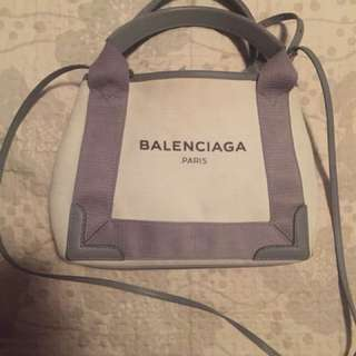 Balenciaga Cabas Canvas Bag