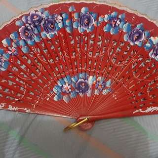Intricate Hand Made Fan