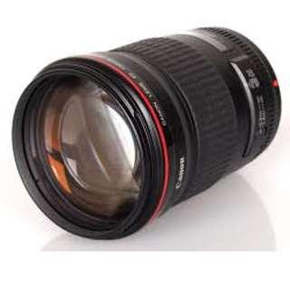 Canon EF 135mm F/2L Lens