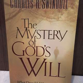 Charity Sale! The Mystery of God's Will by Charles R. Swindoll