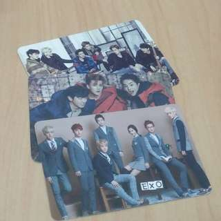 [Postage Free] Exo yescards
