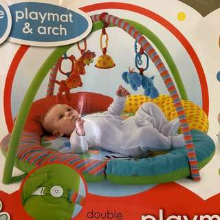 Baby play mat and gym