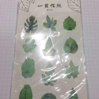 Leaf Sticker Sheet
