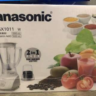 Panasonic 攪拌機附乾磨器 Blender with Mill MX-GX1011