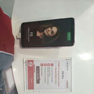 Oppo F5 Pro Bisa Dicicil Tanpa Kartu Kredit