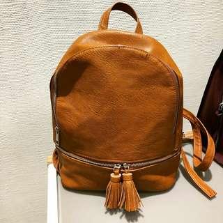 Stradivarius tassel backpack
