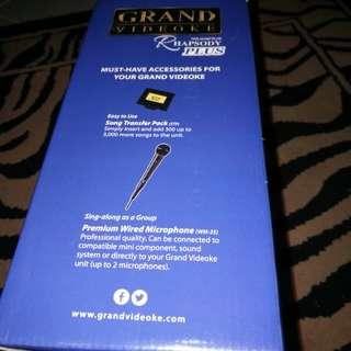 Grand Videoke Rhapsody Plus HD Sound