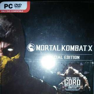 MORTAL KOMBAT X PC SPECIAL EDITION