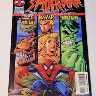 The Sensational Spiderman #14 and #15