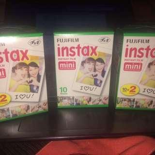 Instax mini film 🎥