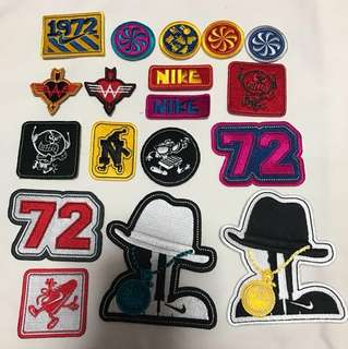 Nike Iron On Patches