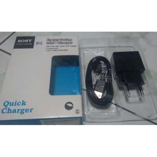 Sony Mini Usb Quick Charger Ori -.