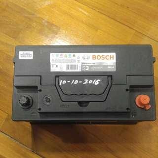 Bosch S3 58015 80ah,2016年10月歐洲車電池 Benz 賣車拆下
