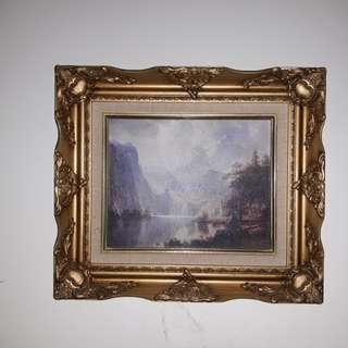 Vintage Acrylic Painting