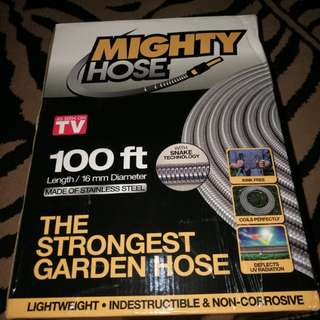 Stainless Mighty Hose 100 ft as seen on TV