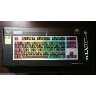 Repoo V500 RGB Back-lighted Mechanical Gaming Keyboard