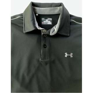 Underarmour black golf shirt