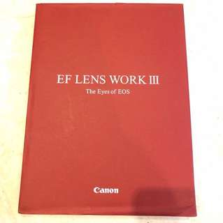 Canon EF Lens Work III Guide Book. As good as news