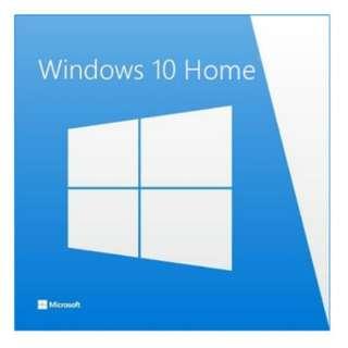 Windows 10 Home 64 Bit installer (Reserved)