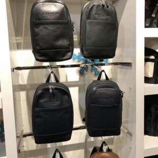 Authentic Coach men backpack laptop bag