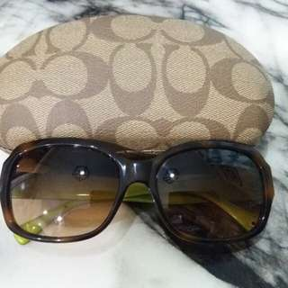Coach ladies sunglasses