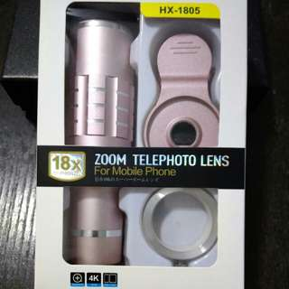 Zoom Telephoto Lens for mobile phones