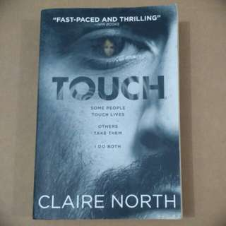 TOUCH - A thriller by Claire North