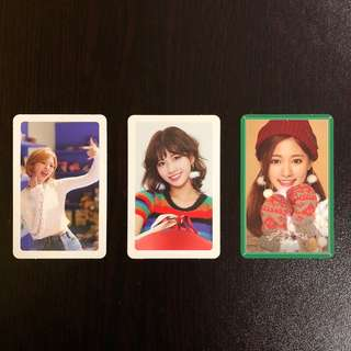 TWICE Merry & Happy era Photocard